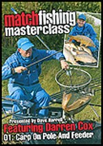 Match Fishing Masterclass with Darren Cox – Carp on Pole and Feeder DVD