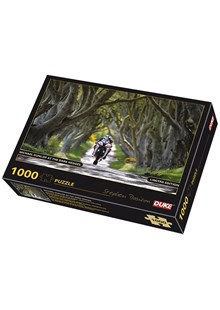 Michael Dunlop Dark Hedges 1000 Piece Jigsaw