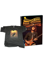 Davy Knowles and Back Door Slam Black T-Shirt medium and DVD