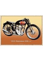 Excelsior Manxman 250cc Metal Sign