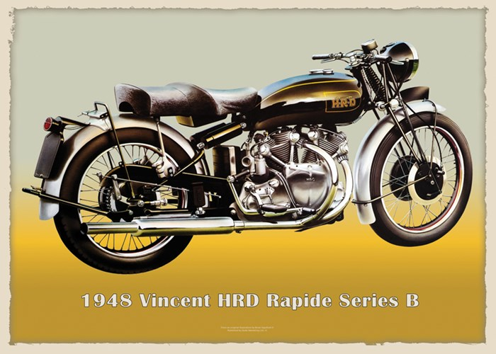 1948 Vincent Rapide Series B - click to enlarge