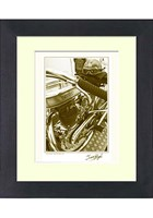 Norton Racer Limited Edition Signed Print