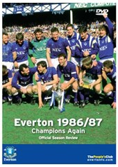 Everton 1986/1987 Season Review - Champions Again (DVD)