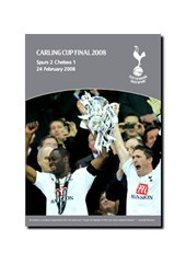 2008 Carling Cup Final - Tottenham 2-1 Chelsea (DVD)