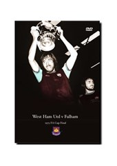 FA Cup Final 1975 DVD - West Ham vs Fulham