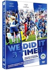 Wigan 2009/10 Season Review - We Did it 3 Times (DVD)