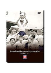 FA Cup Final 1961 DVD - Tottenham Hotspur vs Leicetser City