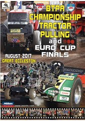 BTPA Championship and Euro Cup Finals Tractor Pulling 2017 DVD