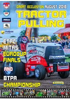 BTPA & Mitas Euro Finals Tractor Pulling 2018 Great Eccleston August DVD