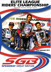 Elite League Riders Championship 2014 DVD