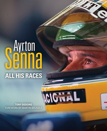 Ayrton Senna All his Races (HB) - click to enlarge