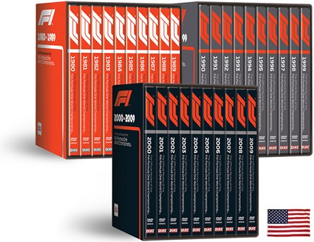 Formula One 1980 - 2009 NTSC Box Set