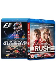 FORMULA ONE 2013 & RUSH BLURAY