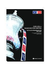 2007 FA Cup Final Programme   - Chelsea vs Manchester United