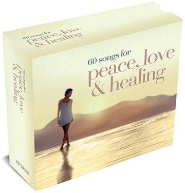 60 Songs For Peace, Love & Healing 3CD Box Set - click to enlarge