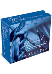 Round Midnight - Sax -Guitar-Piano 3CD Box Set
