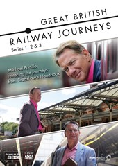 Great British Railway Journeys Series 1-3 (14 DVD) Collection