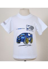 Colin McRae Childs T Shirt Blue Car
