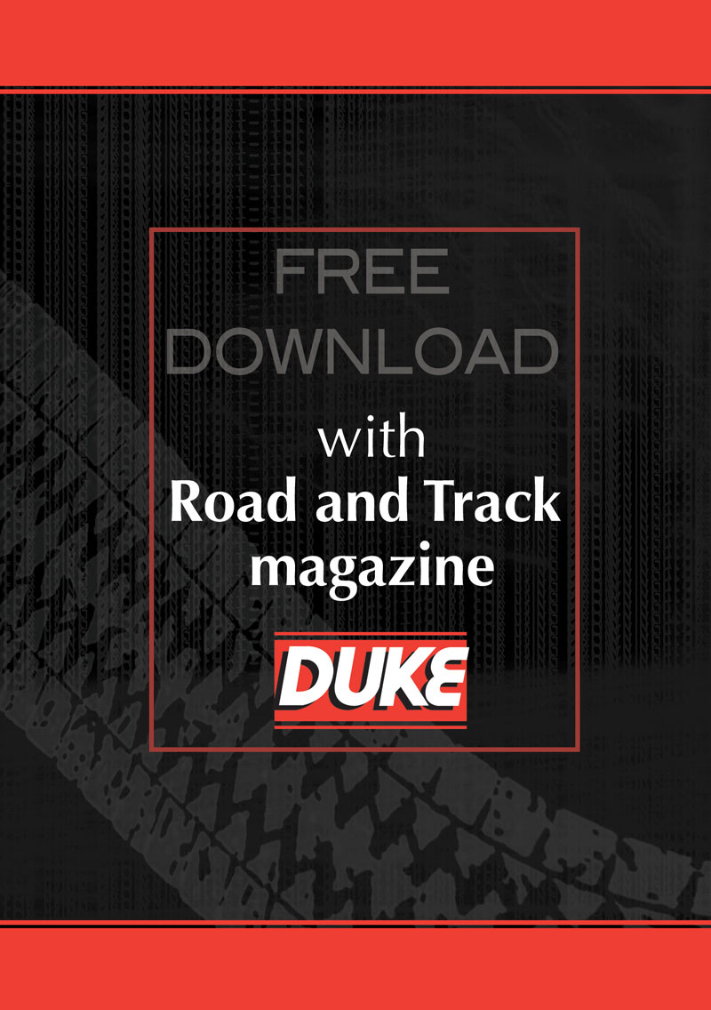 Road and Track Magazine Free Download Duke Video