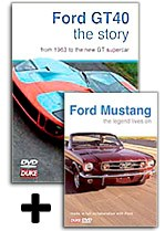Ford GT40 Plus Mustang DVD Offer