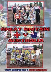 Team GB vs Australia Team Match 2012 DVD