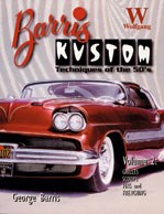 Barris Kustoms Techniques of the 50's,Grills,Scoops,Fins & Fencing (PB)