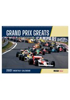 Grand Prix  Greats 2021 Wall Calendar