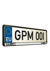 World Rally Championship 2 Number Plate Surround