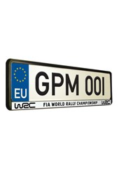 World Rally Championship 04 Number Plate Surround