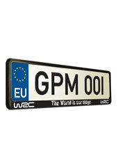 World Rally Championship 9: Maximum Attack Number Plate Surround