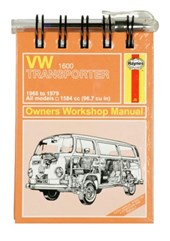 VW Transporter Note Book