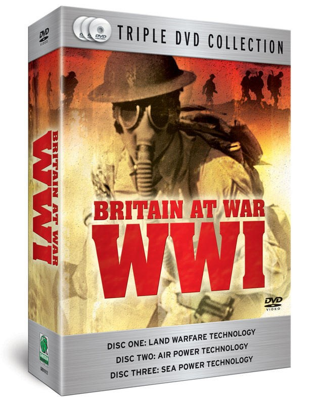 Britain At War WWI (3 DVD Set)