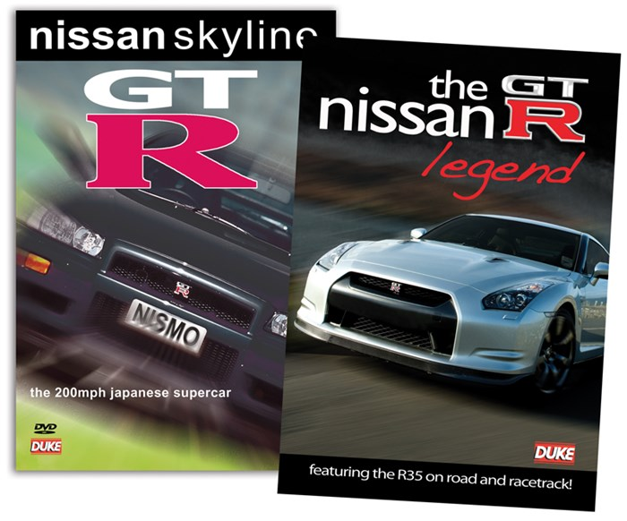Nissan GT-R Special Offer 2 DVD Bundle