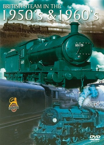 British Steam in the 1950s and 1960s DVD - click to enlarge
