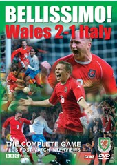 Bellissimo - Wales 2 Italy 1 DVD