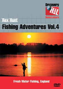 Rex Hunt Fishing Adventures Vol 4 - Fresh Water Fishing DVD