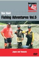 Rex Hunt Fishing Adventures Vol 5 - Japan and Vanuatu DVD