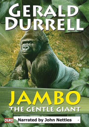 Gerald Durrell - Jambo the Gentle Giant (DVD) - click to enlarge