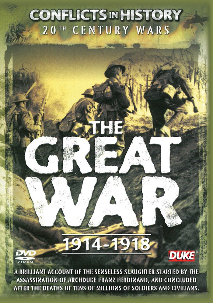 The Great War 1914-1918 DVD