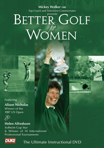 BETTER GOLF FOR WOMEN DVD - MICKEY WALKER - click to enlarge