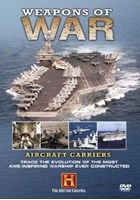 Weapons of War Aircraft Carriers DVD