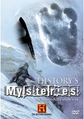 History's Mysteries - The Abominable Snowman DVD