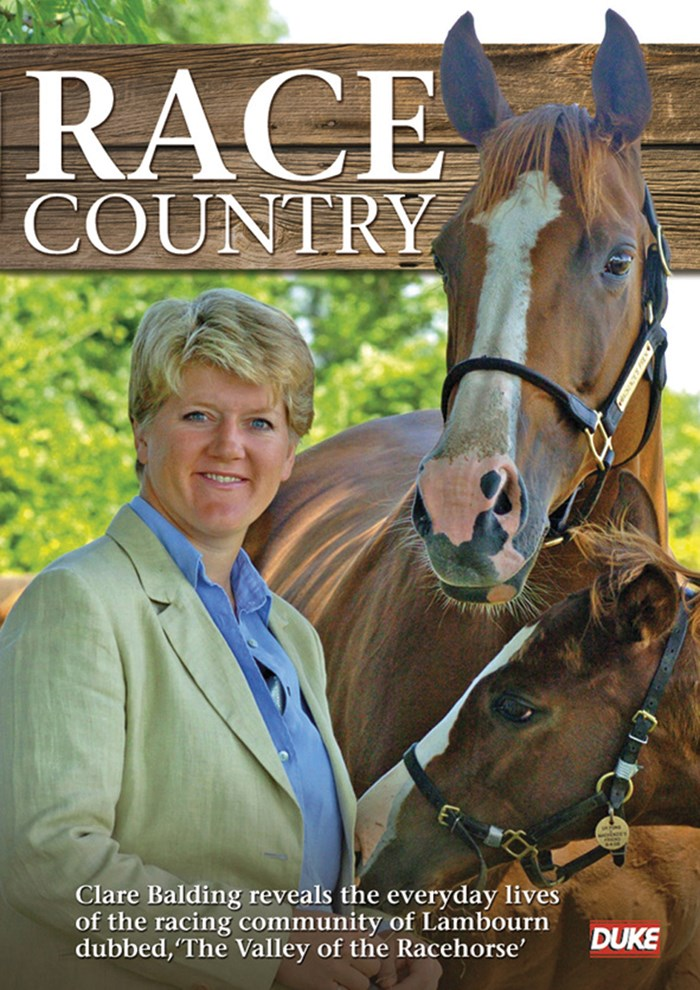 Race Country with Clare Balding (2 Disc) DVD
