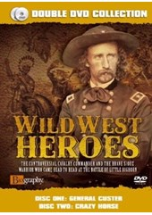 Wild West Heroes - General Custer and Crazy Horse Double DVD Collection