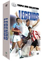 Three Legends - Linekar, Le Tissier, Brooking 3DVD set