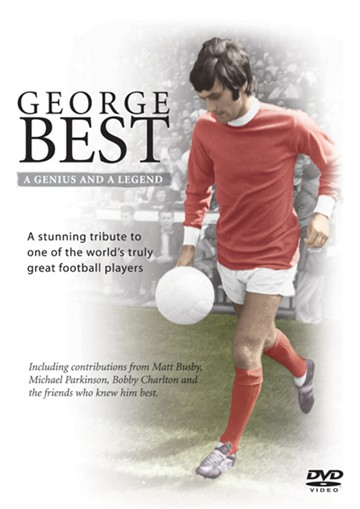 George Best A Genius and Legend DVD - click to enlarge