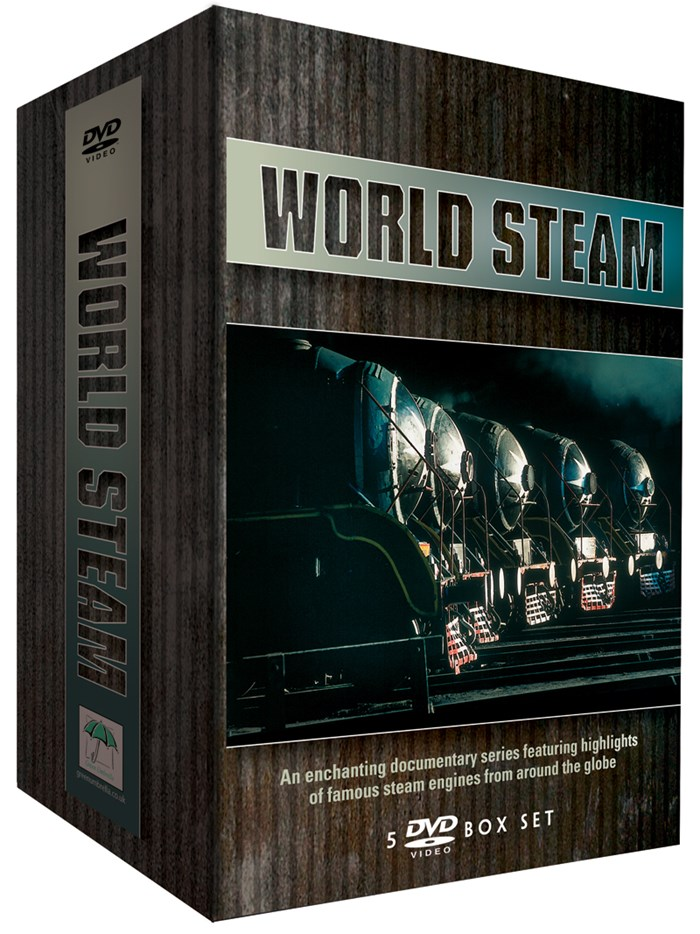 World Steam 5 DVD Box Set
