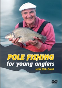 Pole Fishing For Young Anglers DVD With Bob Nudd