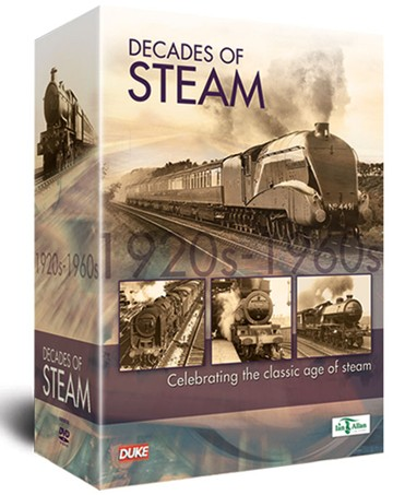 Decades of Steam 5 DVD Box Set - click to enlarge