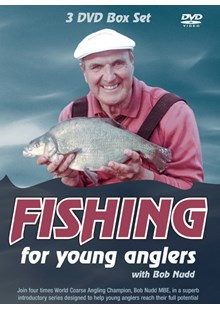 Fishing for Young Anglers with Bob Nudd - Triple DVD Collection